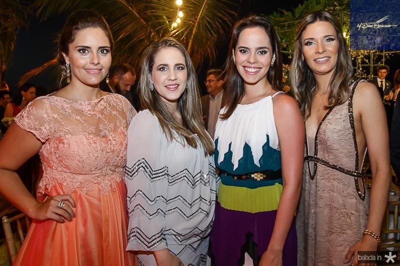 Gabriela Leal, Ana Paula Aragao, Beatriz Ximenes e Patricia Leal