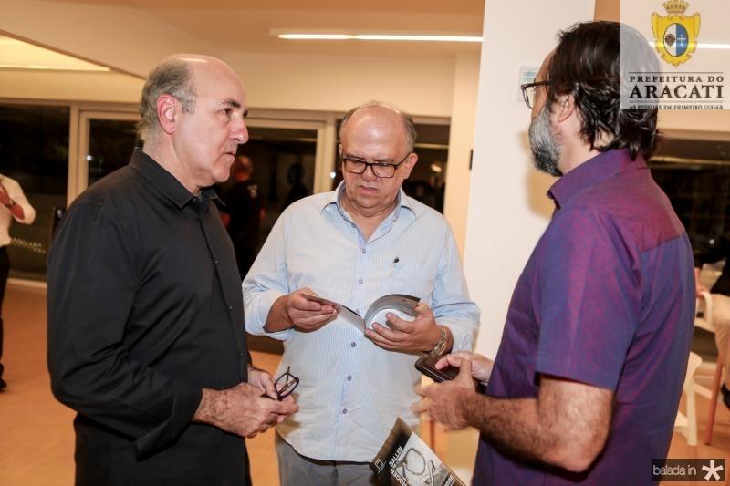 Silvio Frota, Fernando Ximenes e Angelo Bianco