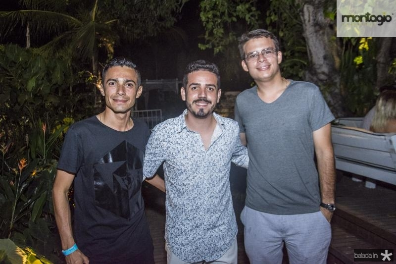 Decio Filho, Solon Pires e Gustavo Reboucas