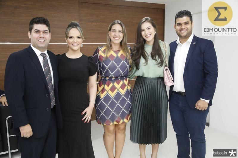 Mauro Neto e Keliane Benevides, Larissa Gaspar, Gabriela e Davi Benevides