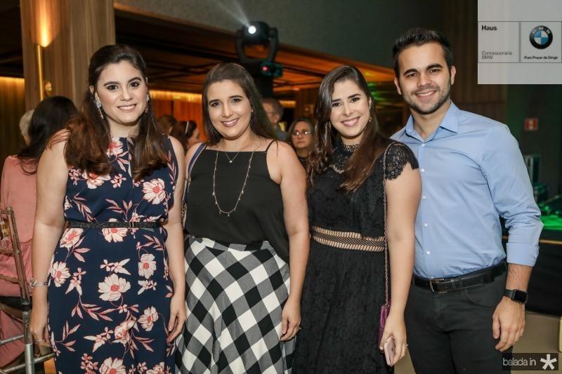 Lia Feitosa, Camila Maia, Isabel Mota e Mateus Feijo