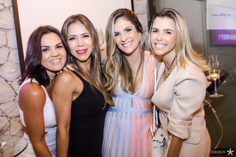Katarine Queiros, Sakie Brooks, Mariana Marinho e Liliana Rola