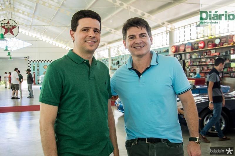 Marcelo Pimentel e Claudio Frossar