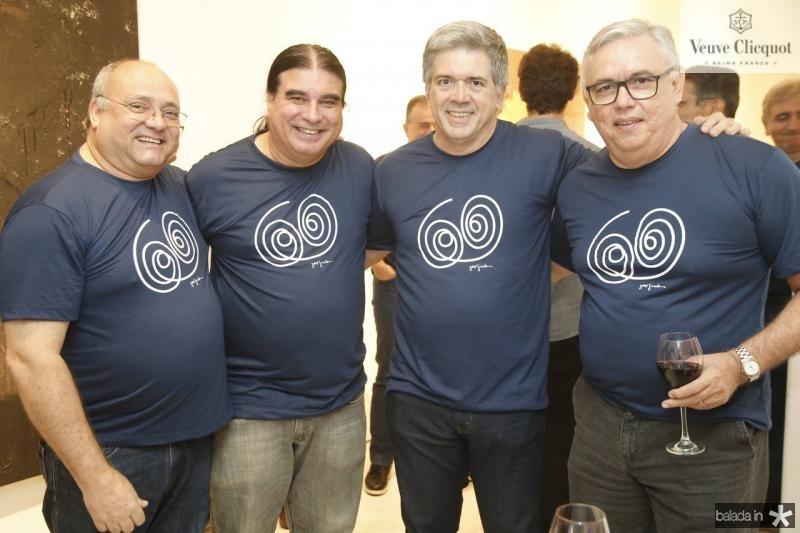 Romulo Barbosa, Fernando Pessoa, Fernando Melo e Fernando Siqueira
