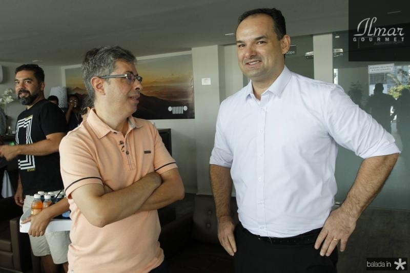 Andre Marinho e Glauco Feitosa