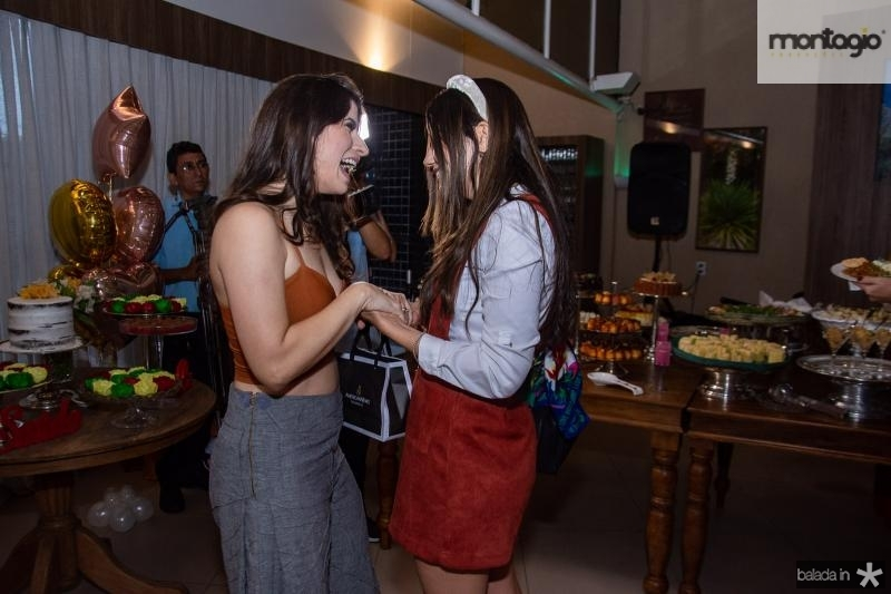 Themis Briand e Lorena Baecker