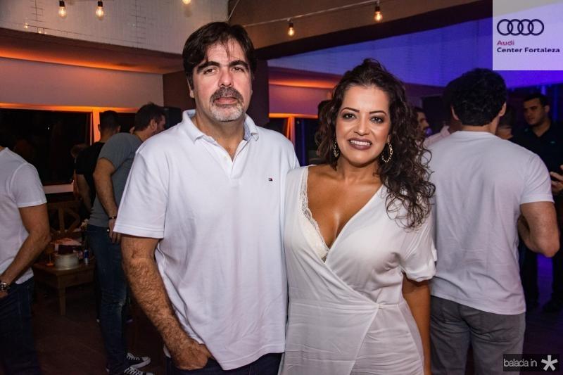 Eduardo Cisne e Patricia Araujo