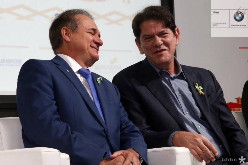 Washington Araujo e Cid Gomes
