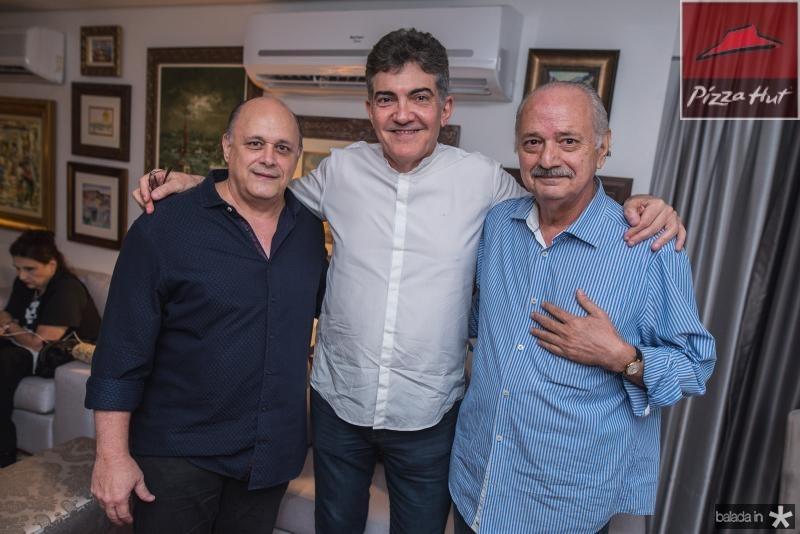 Philomeno Junior, Jaime Leitao e Lincoln Machado