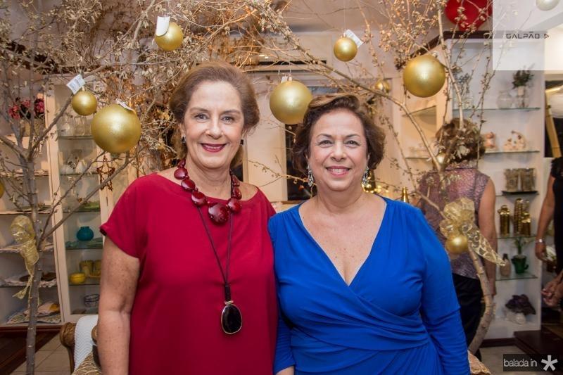 Tida Leal e Julia Gurjão