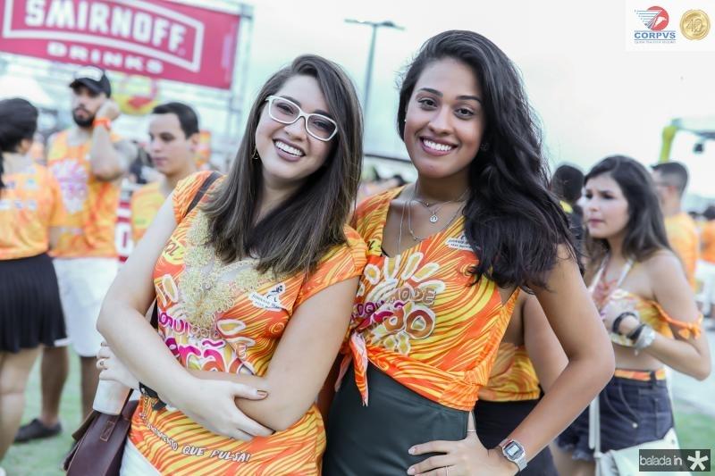 Paula Stenia e Gleice Nogueira