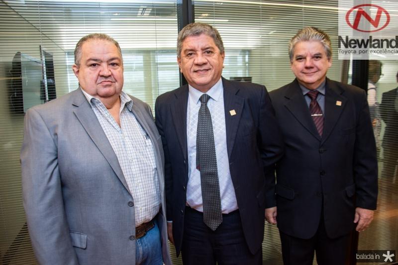 Marcos Soares, Sampaio Filho e Chico Steves