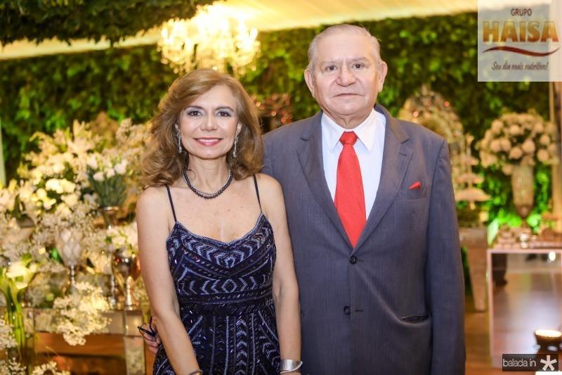 Eveline e Marcelo Freitas