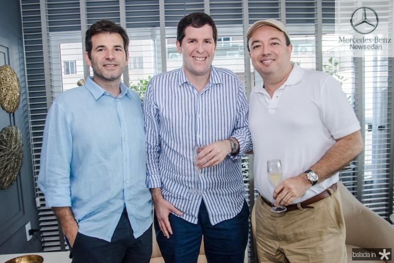 Germano Franck, Rodrigo Carneiro e Vader Xavier