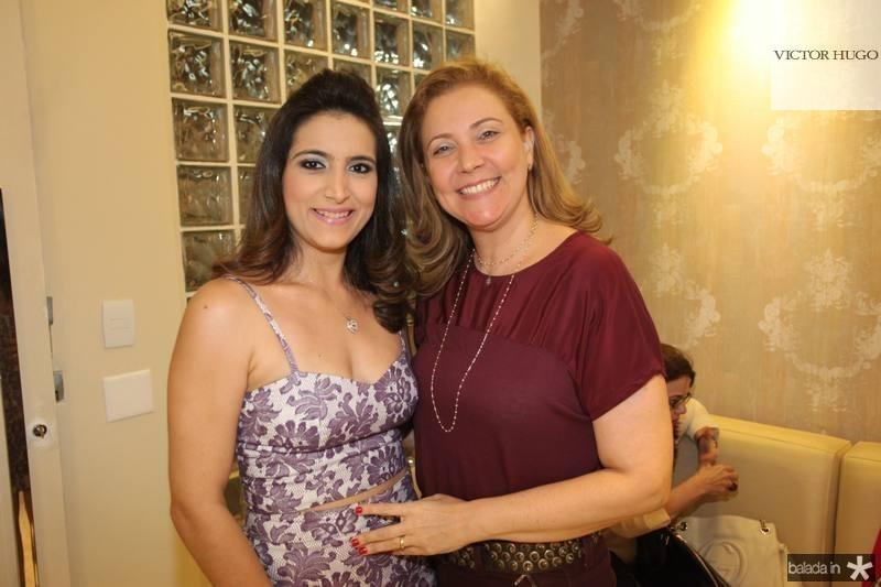 Camila Rodrigues e Andrea Delfino