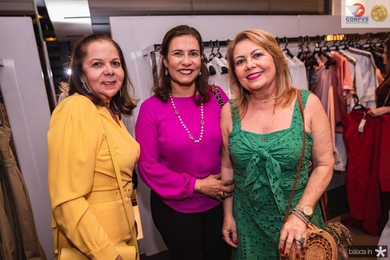 Fernanda Laprovitera, Marcia Teixeira e Ines Cals