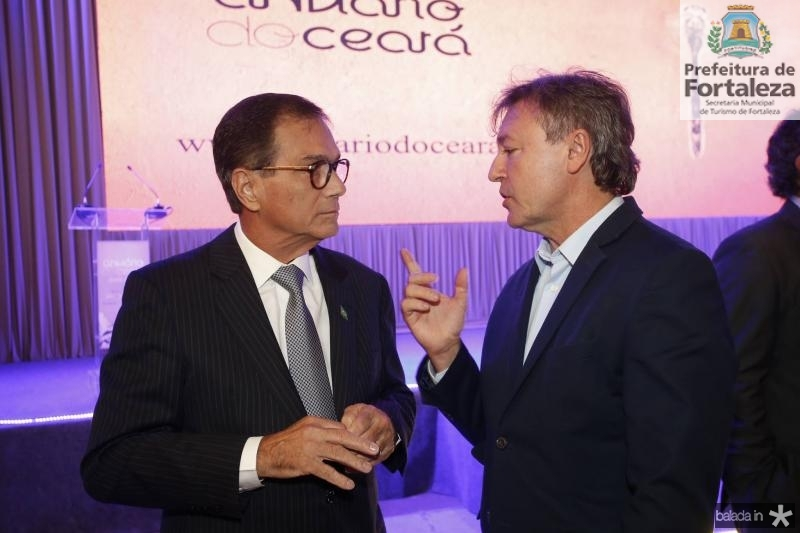 Beto Studart e Mauricio Filizola