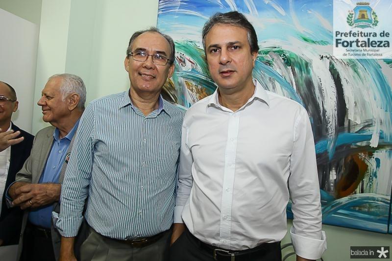 Celio Fernando e Camilo Santana