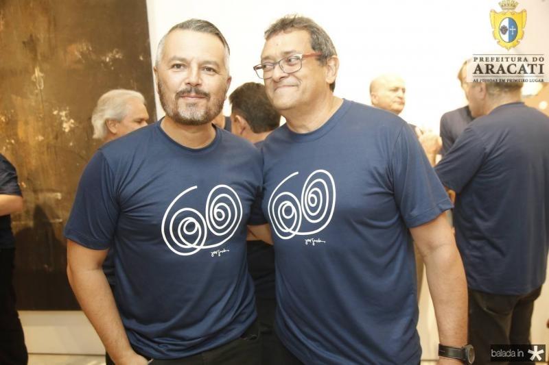 Eugenio Mendonca e Jose Guedes