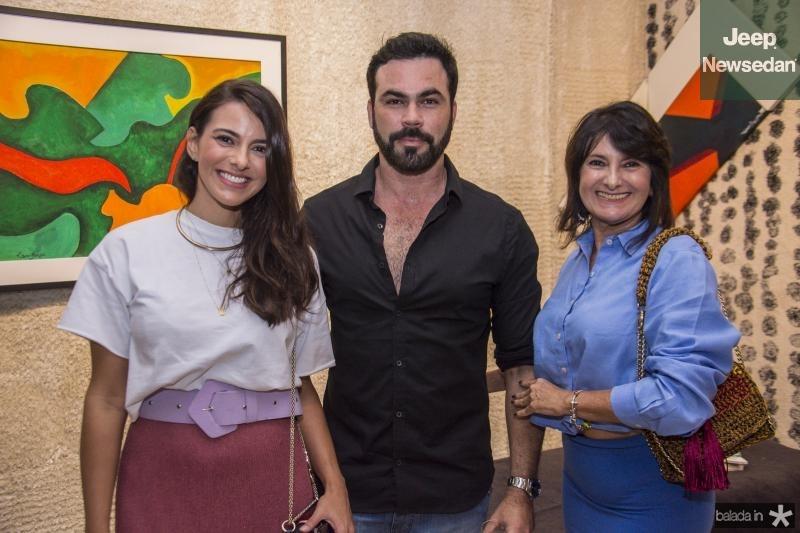 Milena Holanda, Cesar Fiuza e Marcia Fiuza