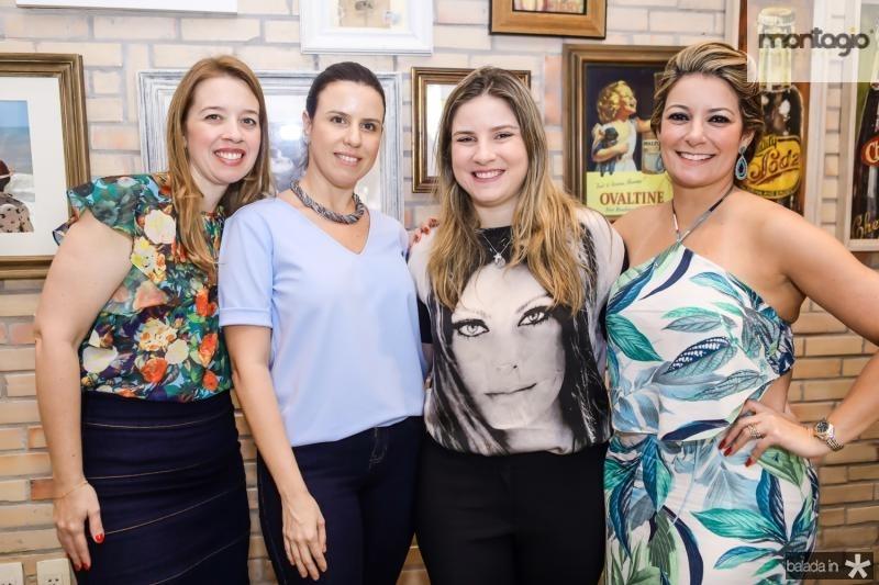 Marina Vale, Amelia Minheiro, Maria Clara D´allolio e Tatiana Luna