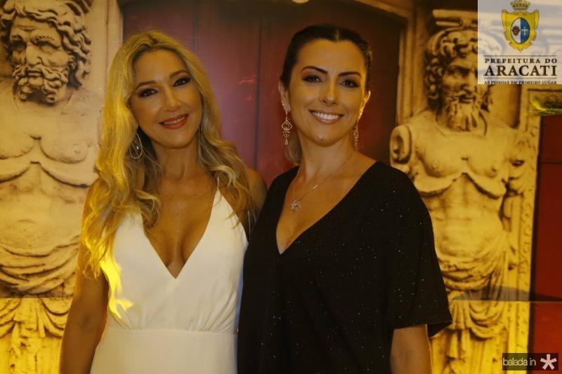 Carmen Rangel e Nara Oliveira