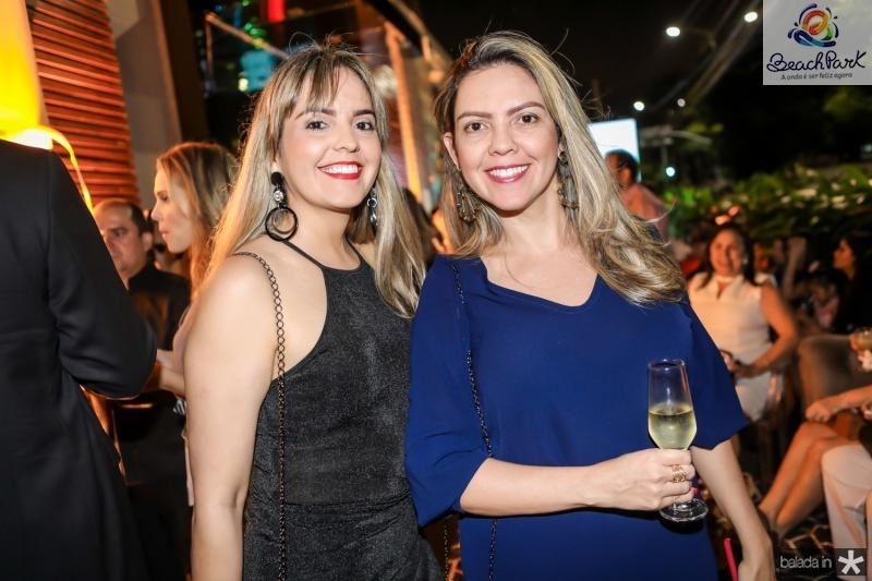 Karla Torres e Katia Nogueira