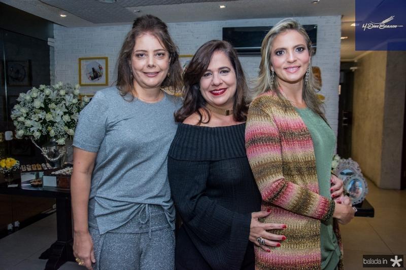 Claudia Gradvohl, Martinha Assuncao e Michele Aragao