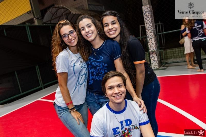 Ana Luiza Sucupira, Leticia Lima, Leticia Cristino e Igor Cavalcante