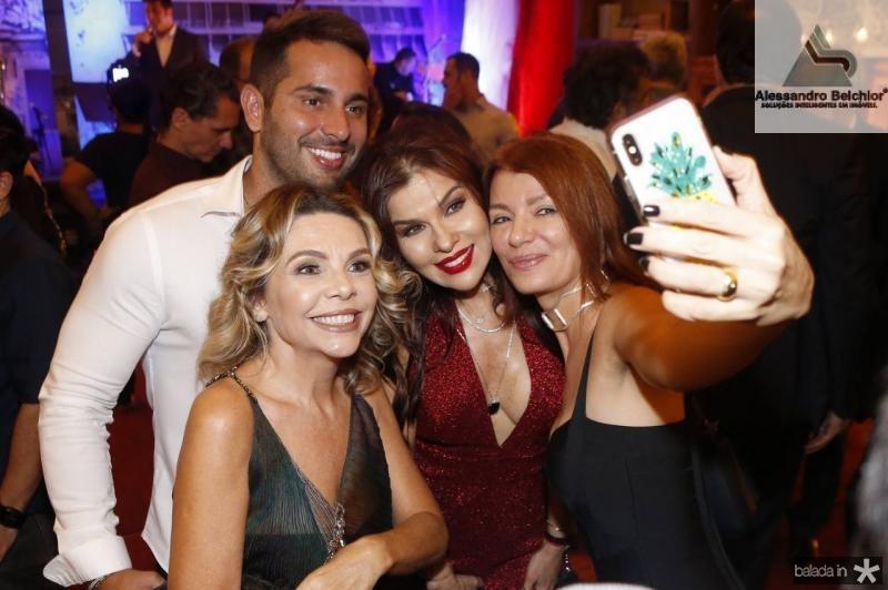 Veri Bessa, Lilia Porto, Zildinha Pessoa e Susane Farias