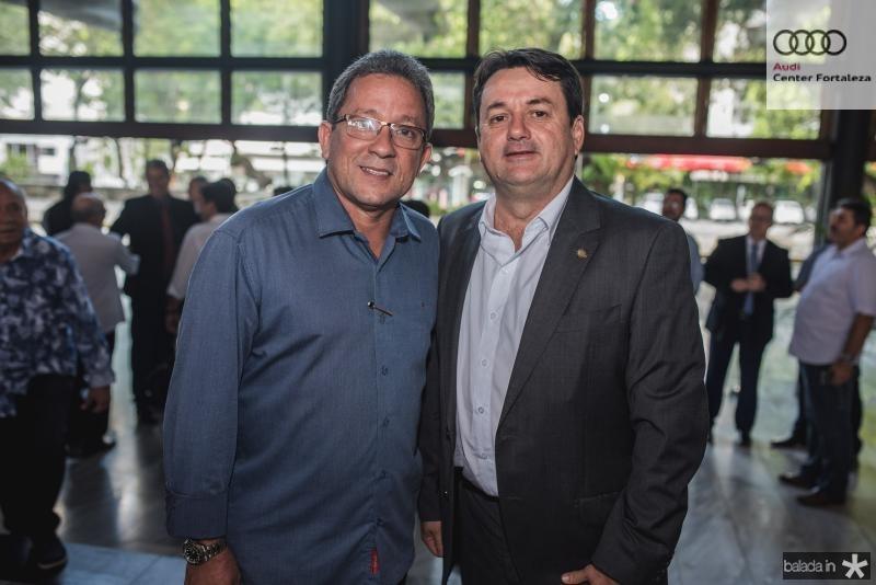 Sergio Holanda e Benigno Junior