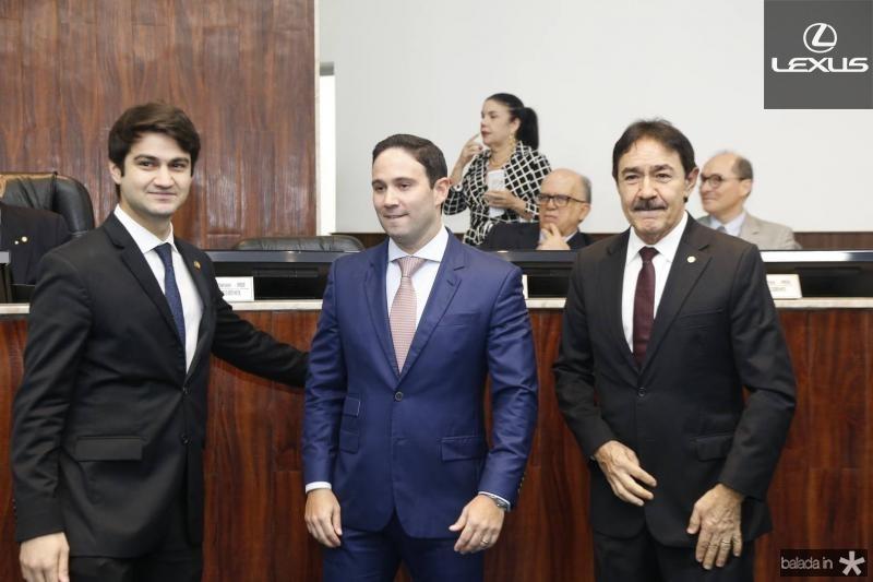 Pedro Gomes de Matos, Thiago Asfor e Raimundo Gomes de Matos