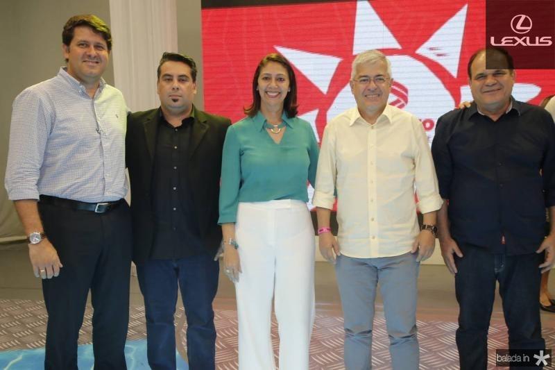 Rafael Rodrigues, Andre Melo, Linda Tavares, Paulo Cesar Noroes e Roberto Moreira