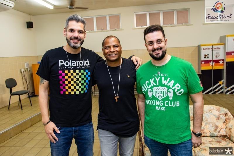 Andre Cavalcante, Davidson Silva e Pedro Veiga