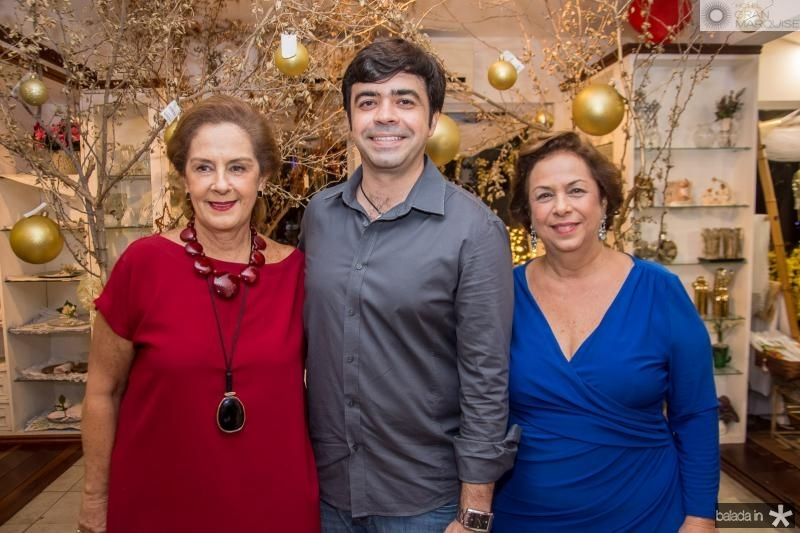 Tida Leal, Eduardo Cals e Julia Gurjão