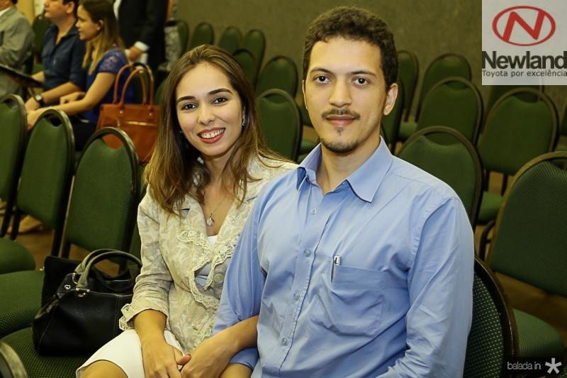 Cecilia Rabelo e Gabriel Fortes