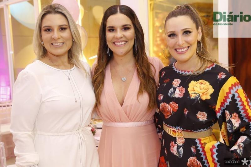 Jessica Rocha, Ana Paula Domene e Monique Sales