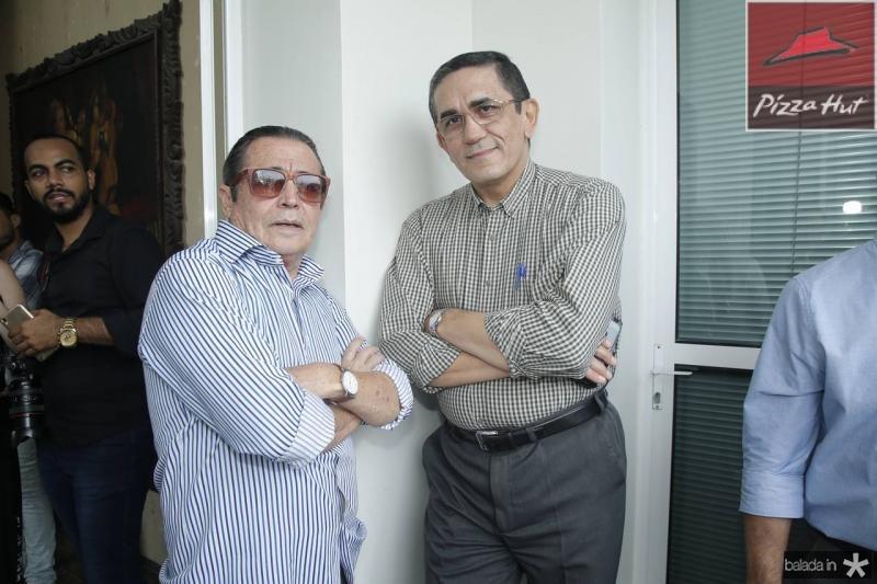 Luiz Carlos Castelo e Denisio Pinheiro