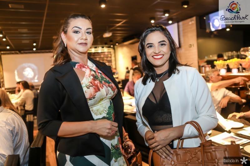 Regina Bezerra e Michelle Nogueira