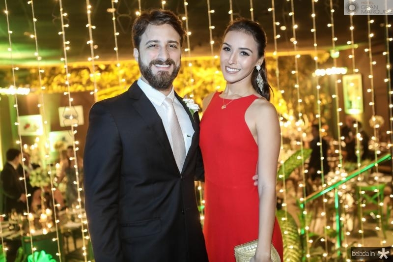 Marcelo Quixada e Emanoela Bierman
