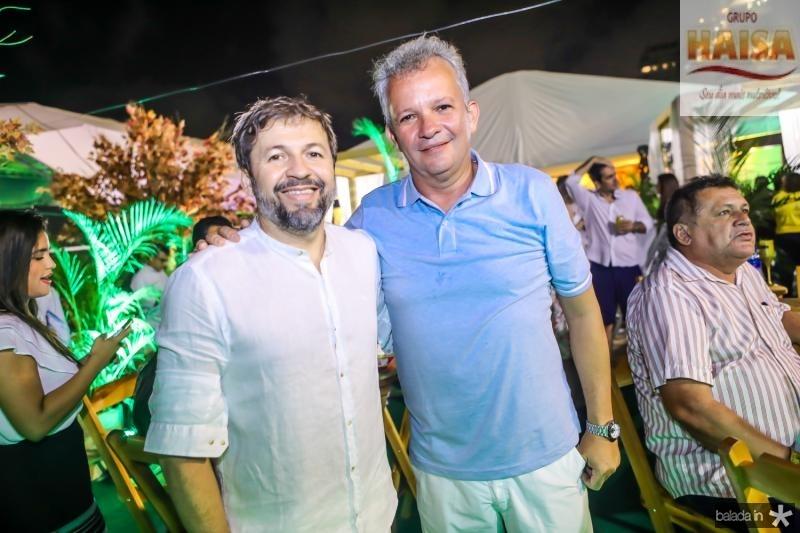 Elcio Batista e Andre Figueiredo