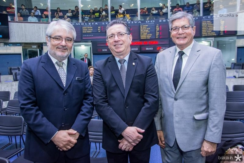 Francisco Magalhaes, Flavio Juca e Mario Lima