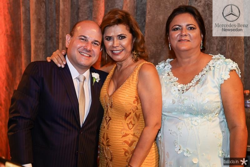 Roberto Claudio Bezerra, Raimundinha Ximenes e  Marta Cunha