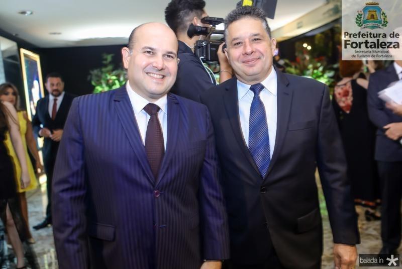 Roberto Claudio e Gerardo Bastos Filho