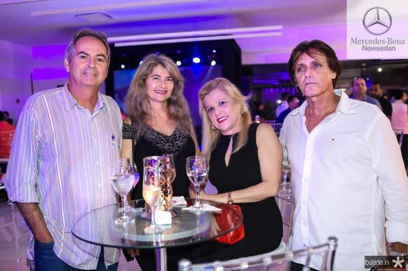 Ricardo Sampaio, Raquel Saraiva Leao, Margarete Gonsalves e Norton Costa Lima