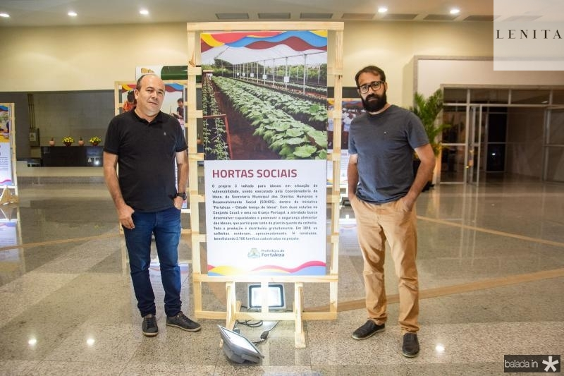 Tarcisio Fontenele e Romulo Uchoa