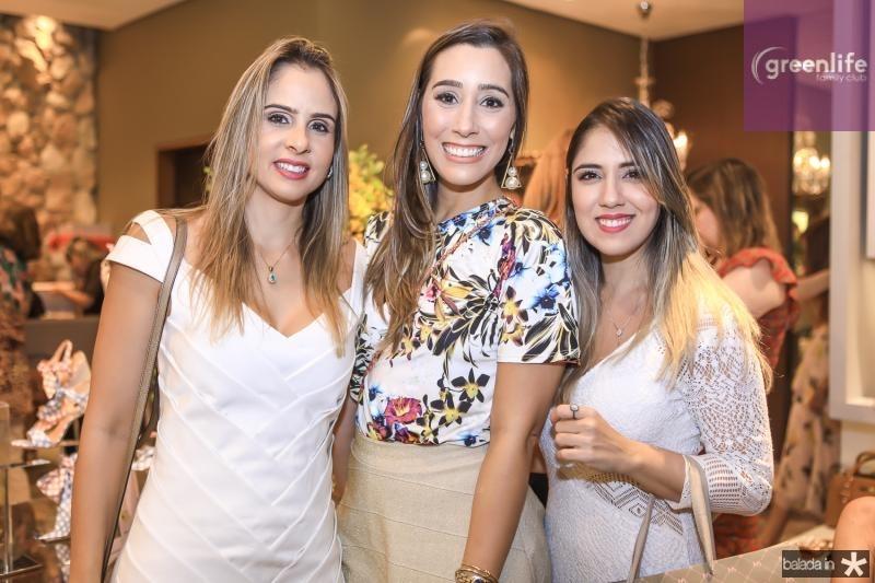 Ingrid Gurgel, Manoela Melo e Juliana Teixeira
