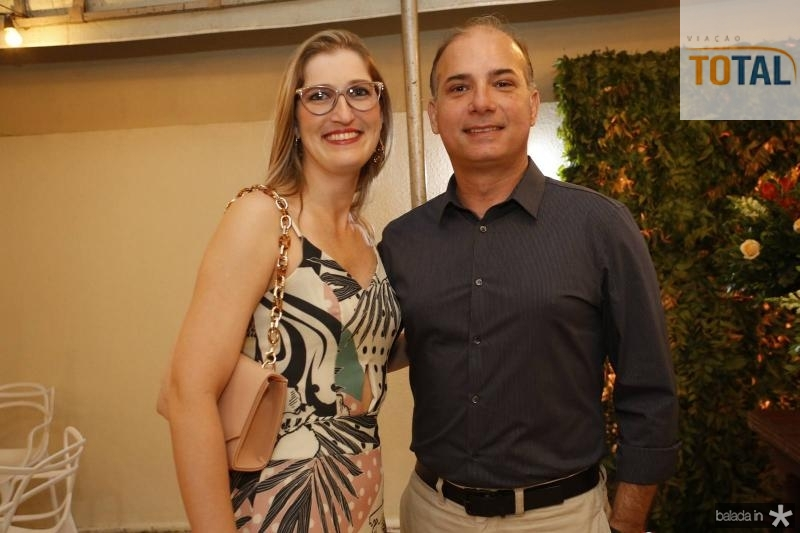 Patricia Duarte e Clementino Veras