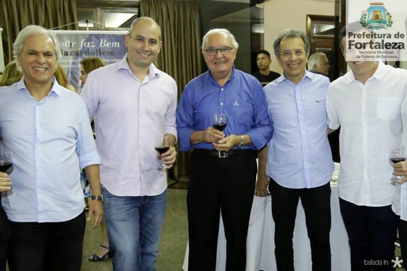 Ricardo Rolim, Andre Linheiro, Jose Edson, Eduardo Rolim e Ferruccio Feitosa