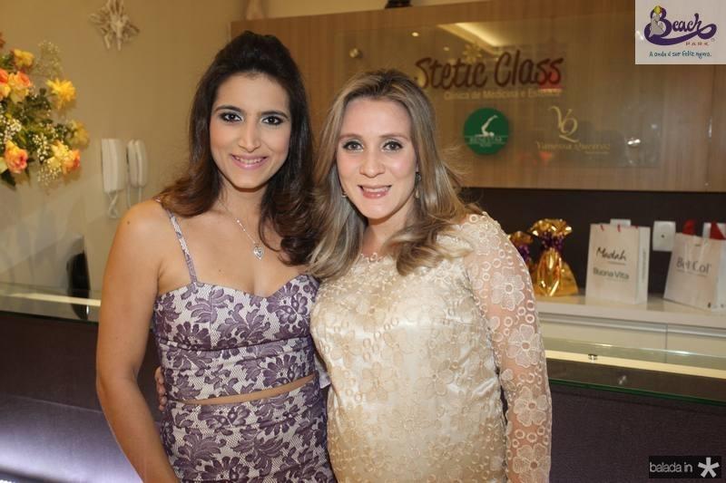 Camila Rodrigues e Olga Saraiva